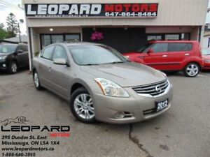 2012 Nissan Altima Leather,Sunroof,Camers,Bluetooth*No Accident*