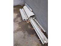 External metal door shutter