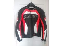 RST CPX-C PRO SERIES LEATHER MOTORCYCLE JACKET SIZE UK48