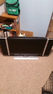 32 inch plasma flat screen TV works no remote