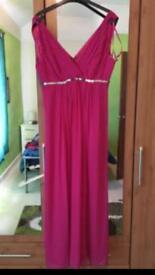 Pink size 14 evening dress
