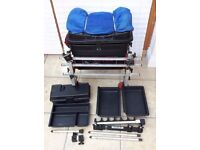 World Sport C Nunn - Fishing Seat Box With Large Amount Of OCTOPLUS Accessories