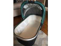 Uppababy Carrycot Teal Green