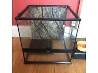 Exo-terra glass terrarium 45x45x45cm