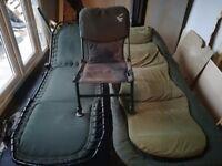 Fatboy bedchair and jrc bedchair