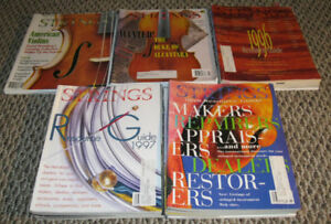 The Strad & Strings Magazine – Vintage collection from 80's 90's