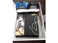 PS4 VERY GOOD CONDITION WITH 2 CONTROLLERS.