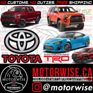 Toyota Performance Parts | Brake Pads & Rotors | Best Prices
