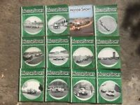 50 x MOTOR SPORT Magazines 1957 - 1963 Includes: Swedish G/Ps German G/Ps Modena G/Ps