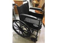 Drive Medical Design and Manufacturing Folding Wheelchair
