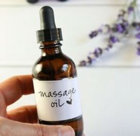 Full body massage with oil