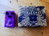 Suhr Riot guitar distortion pedal