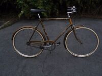 """VINTAGE MEN GENTS RALEIGH ESQUIRE 3 SPEED TOWN DUTCH BICYCLE 23.5"""" 60 CM FRAME"""