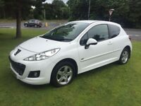 2011 Peugeot 207 1.4 Sport only 47k mint car bargain swap or px (Clio corsa A3 Leon golf BMW polo)