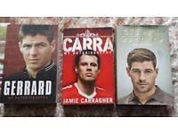 Liverpool FC Autobiography set