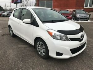 2013 Toyota Yaris ONE OWNER - NO ACCIDENT - SAFETY & WARRANTY IN
