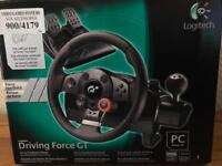 Logitech Driving Force GT Steering wheel £80 ono