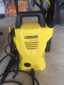 Marcher k2 compact jet washer and hose and bucket