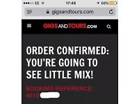 2 x Little Mix Genting Arena Birmingham 13th October Seated Tickets (Block 14)