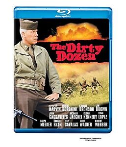The Dirty Dozen blu ray Lee Marvin Charles Bronson