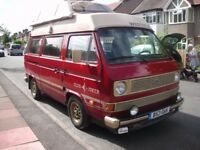 VW Westfalia Club Joker 1985 Automatic 1915cc LPG/Petrol Price: £7,995