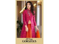 YOUR CHOICE GORGEOUS WHOLESALE WESTERN SALWAR SUITS
