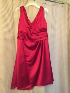 Apple red bridesmaid dress,great condition!