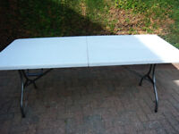 large table for markets or sewing