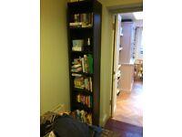 Ikea Bookcase black-brown