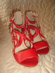 Red Avon Pumps with cushion