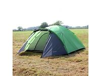 North Gear Camping Mars Waterproof 4 Man Dome Tent [x2]