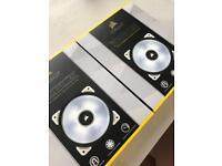Magnetic Levitation LED Fan x 2