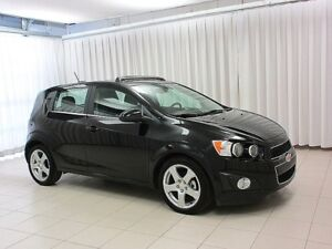 2016 Chevrolet Sonic LT TURBO 5DR HATCH