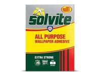 Solvite All Purpose Wallpaper Adhesive - 20 rolls