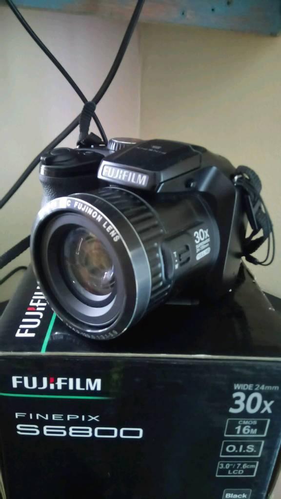 Fuji superzoom bridge camera