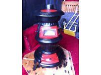 Antique Cast Wood Burner