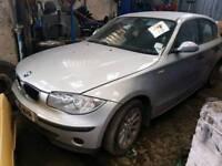 BMW 116i silver 2005 - 2006 os wing alloys mirror