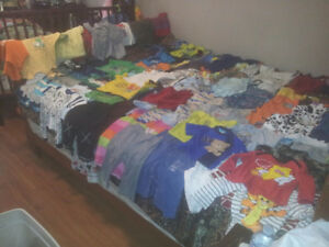 Lot of baby boys clothes