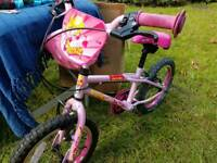 2 kids Bikes Pink (age 5-7) and Blue (age 4-6)