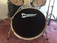 Premier XPK 5 piece drum kit.