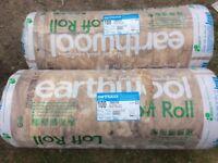 KNAUF earthwool loft roll insulation 100mm thick