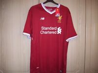 New Liverpool home shirt size XL