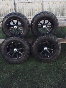 Polaris rzr rims and tires
