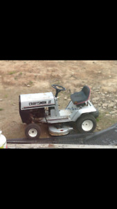 Wanted Old lawn tractor