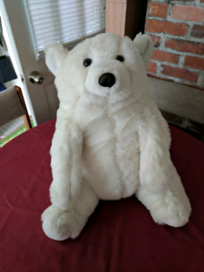 Extra large stuffed polar bear
