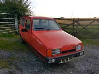 Reliant robin hatchback k.reg 1992 no MOT thousands spent lots of history