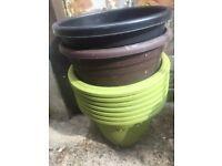 Plant Pots £5 bundle