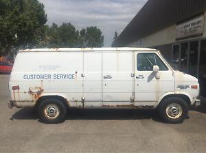 Old Chevy Van