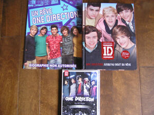 ONE DIRECTION: DVD, coussin, Biographies