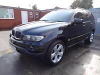 BMW X5 3.0 D SPORT AUTO~54/2005~STUNNING BLACK~HUGE SPEC~VERY CLEAN 4x4